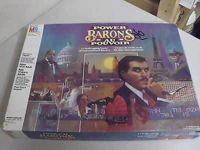 Milton Bradley Power Barons Board Game Replacement Pieces Only