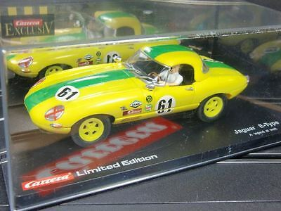 Carrera Exclusiv Jaguar E-Type '61 limited Edtion Nr.20488 TOP/OVP (F1239)