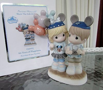 Disney Precious Moments Disneyland 60th Anniversary 60 Years of Happiness NEW