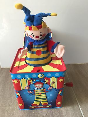 Jack in the Box Schylling Silly Circus Clown JACK IN THE BOX Toddler