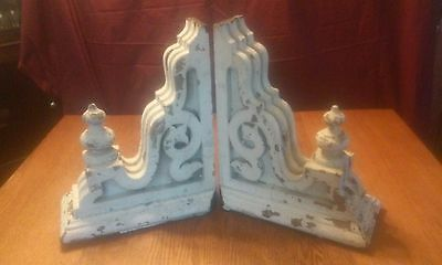 Vintage Wood  Victorian Architectural Salvage Corbels Pair