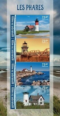 Z08 Imperforated NIG16213a NIGER 2016 Lighthouses MNH