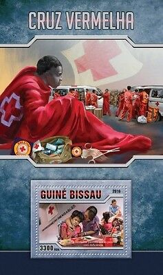 Z08 GB16509b GUINEA-BISSAU 2016 Red Cross MNH