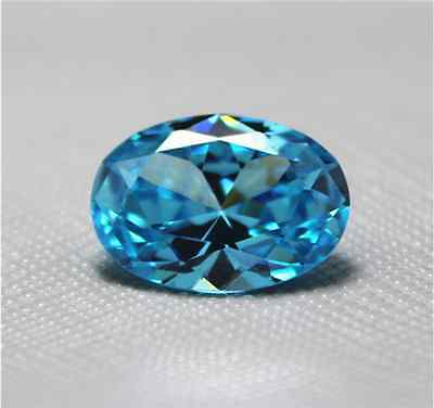 EXQUISITE 6.36CT ROYAL SEA BLUE SAPPHIRE 10x12mm OVAL CUT AAAA+ LOOSE GEMSTONES