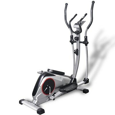 Elliptical Cross Trainer Cardio Exercise Fitness Workout Gym Machine XL with LCD