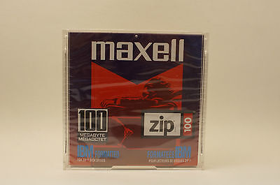 Maxell Zip 100 IBM Formatted Brand New Old Stock