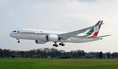 Inflight 200 If7870716 1/200 Mexico Air Force Boeing 787-8 Xc-Mex With Stand