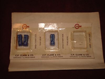 C.P. Clare PRMA 5V Reed Relay lot of 3 Picoreed 2-form B, 1-dual form A