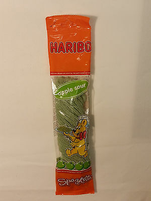 HARIBO Spaghetti - Apple Sour CANDY WINE GUMS 7oz - 200g - MADE IN GERMANY