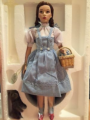 NEW Timeless Treasures Wizard of Oz Dorothy Porcelain Doll Mattel Judy Garland