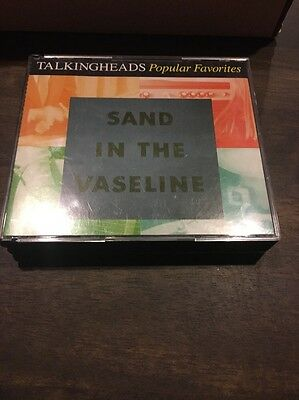 Talking Heads Sand In The Vaseline Double Cd