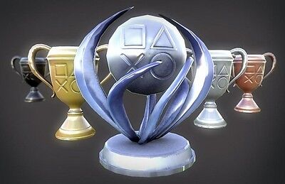 Platinum Trophy Service - No Hacking - Any Ps3 Trophies