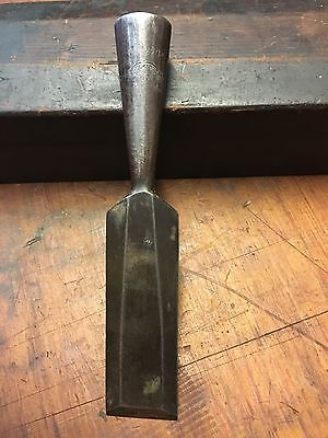 "Vintage Rockford 1"" Bevelled Socketed Chisel"