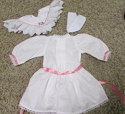 American Girl SAMANTHA WHITE LACE TEA PARTY DRESS  and Socks