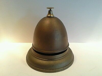 Vintage Brass Dome Shop Counter Bell