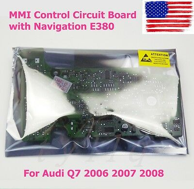 New MMI Control Circuit Board with Navigation E380 For Audi Q7 2006 2007 2008 US
