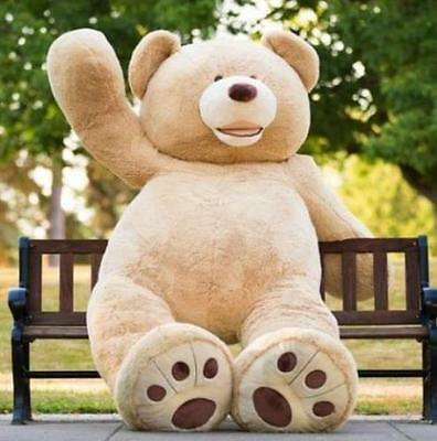 20''/40''52''/63''/80''Giant Big Cute Plush Stuffed Large teddy bear Toy gift