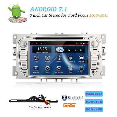 Android 6.0 Car DVD Player GPS Navi Radio for Ford Mondeo Focus S-Max 2007-2011