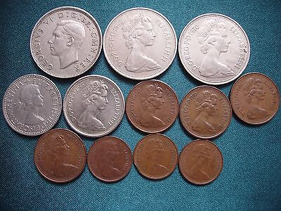 Coins Great Britain Set of 12 Pieces!!!
