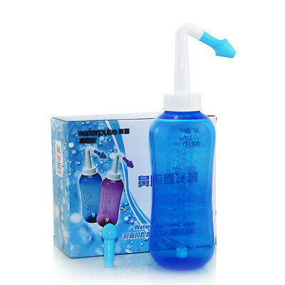 Nasal Nose Wash Cleaning Bottle / Salt for Allergic Rhinitis Relief Avoiding