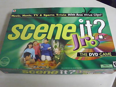 Mattel Scene It Jr Board Game Replacement Pieces Only