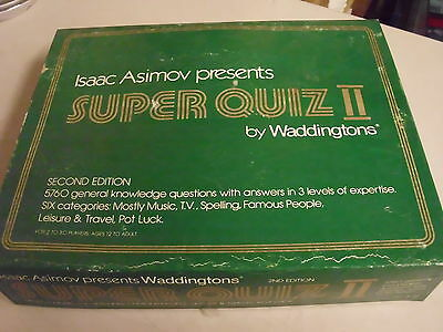 Waddingtons Super Quiz Ii Board Game Replacement Pieces Only