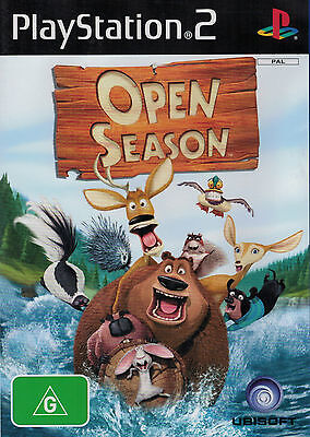 Open Season, Sony Playstion 2, PS2, Game Only, USED