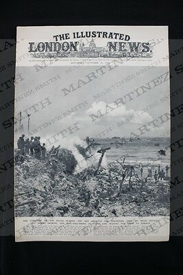 WWII The Illustrated London News 1944 The Conquest of Palau Islands, Philippines