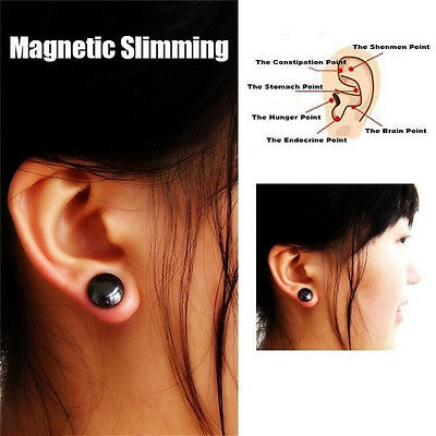Weight Loss Earrings Slimming Healthy Acupoints Stud Magnetic Therapy Hot RD