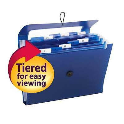 Pockets Flap Cord Closure Letter Size Office Products Folder File Expanding Keep
