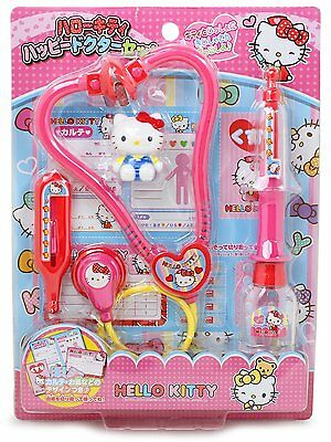 Hello Kitty Happy Doctor Set - With Stethoscope and Other Dr. Tools