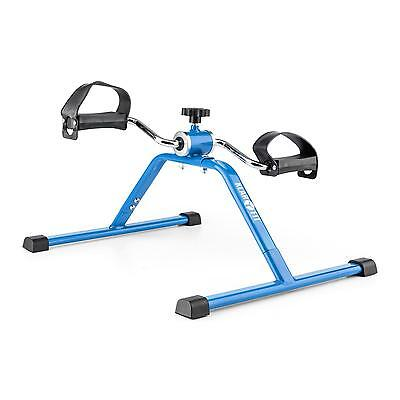 Arms Leg Mini Bike Trainer Cardio Pedal Fitness Bicycle Excercise Home Gym Blue