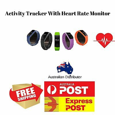 Fitness Activity Tracker  Heart Rate Monitor| Bluetooth Fitness Activity Tracker