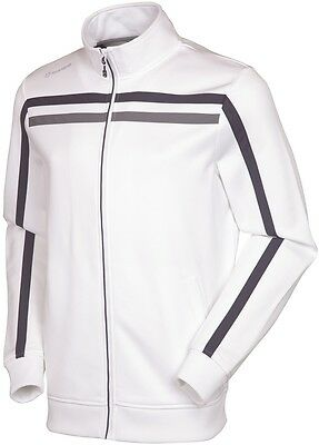 Sunice Men's Winchester Textured Thermal Jacket White/Charcoal L