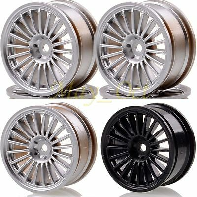 4xHex:12MM Width:26mm Offset:0MM Wheel Rim 1042 For RC 1/10 On-Road Drift Racing