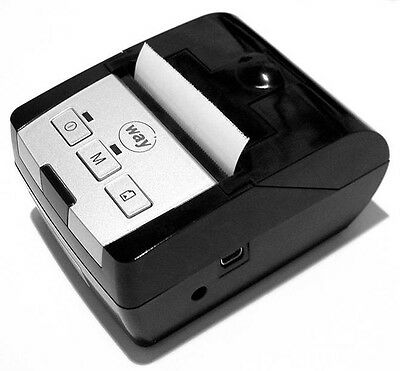 Verifone Way Systems MP100, rechargeable Portable Receipt Printer  Small , Light