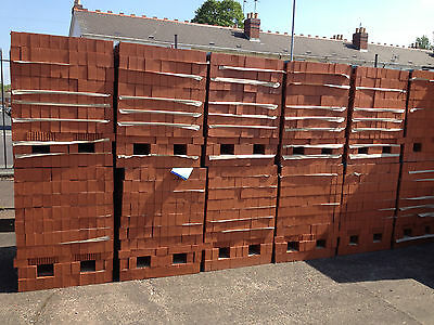 Class B Red Engineering Bricks 65Mm Perforated