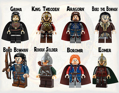 The Lord of the Rings MINI FIGURE compatible lego minifigures building blocks DY