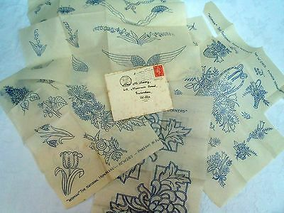 40's 50's Vintage Woman The National Home Weekly Patterns Embroidery Transfer