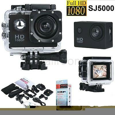 Mini SJ5000 Full HD 12MP Wasserdicht Sport ActionCam Kamera 1080P DV Camera -NEU