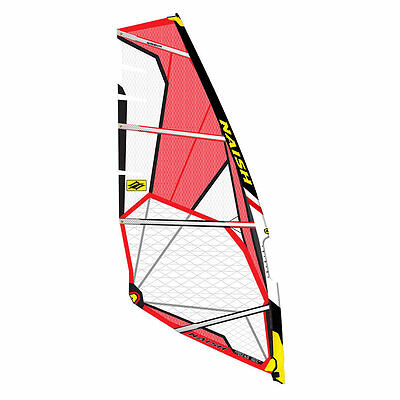 Naish Force Four 5.0m 2015 Windsurfing Sail Black / Red