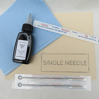 Single Needle Stick And Poke - Top Up Tattoo Kit