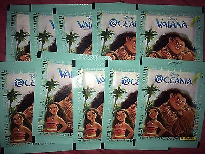 10 Packets Packs of Moana Stickers Panini Party Bag Filler