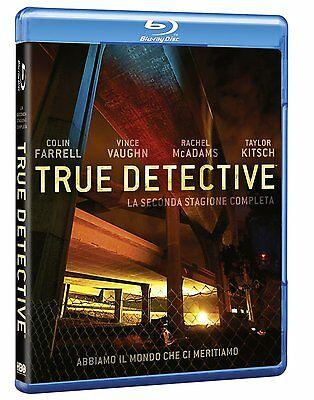True Detective - Stagione 2 (3 Blu-Ray Disc) - ITALIANO ORIGINALE SIGILLATO