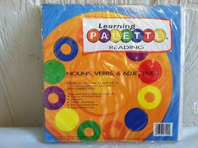 Learning Palette READING NOUNS VERBS & ADJECTIVES Learning Wrap ups product