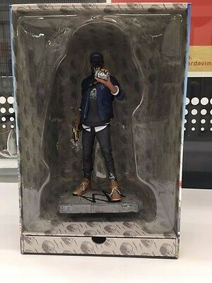 WATCH DOGS 2 SAN FRANCISCO Collectors Edition Marcus Statue in Xbox One BOX NEW