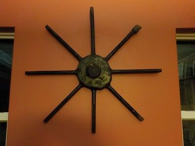 Ant Wood Foundry Casting Pattern Wheel spokes Industrial Factory Steampunk Decor