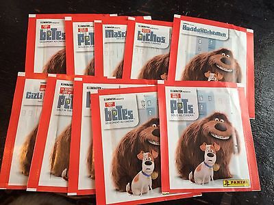 40 Packets Packs of The Secret Life Of Pets Stickers Panini Party Bag Filler