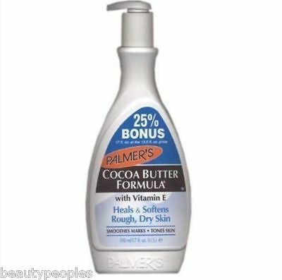 Palmers Cocoa Butter Formula Vitamin E Lotion  Pump 500ml Bonus Size