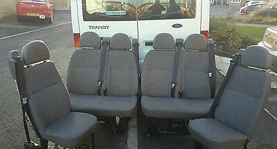 Ford transit 51 plate mini bus seats